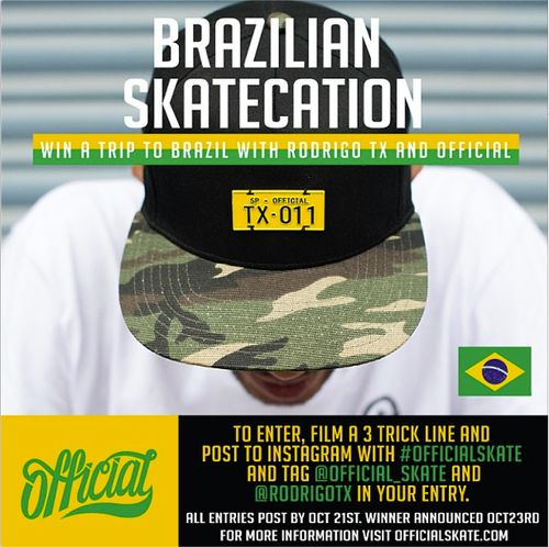 Brazilian skatecation
